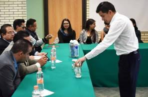 Estudiantes de ITESA presentan 12 proyectos emprendedores al instituto hidalguense de Competitividad empresarial1