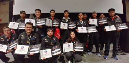 Estudiantes hidalguenses obtuvieron primer lugar en la NASA 2019-4