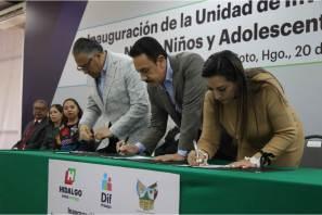 Fortalece Fayad Modelo Hidalgo para atención a la infancia