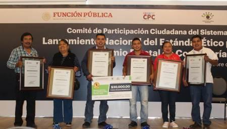 Gana Hidalgo el Premio Nacional de Contraloría Social