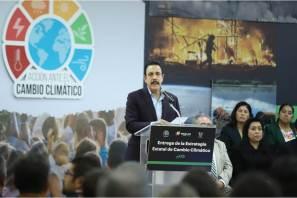 Hidalgo pionero en implementar acciones contra cambio climático