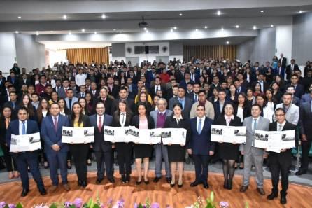 Hidalgo, primera entidad en entregar masivamente títulos electrónicos para licenciatura y posgrado4