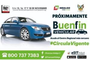Hidalgo se sumará al buen fin vehicular, Actualiza tu placa y circula vigente