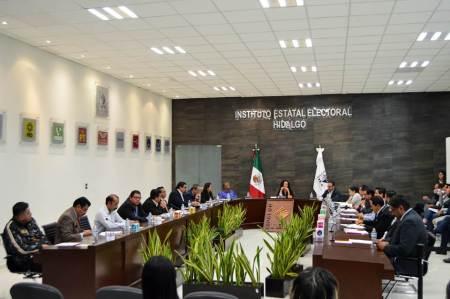 IEEH ratifica convenio de coordinación y colaboración con INE