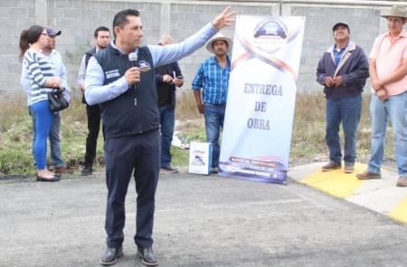 Inaugura alcalde Raúl Camacho Baños pavimentación pradera de Virreyes – Francisco Villa2