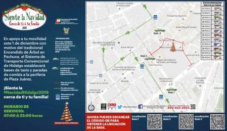 Inician encendidos de árboles navideños en Hidalgo2