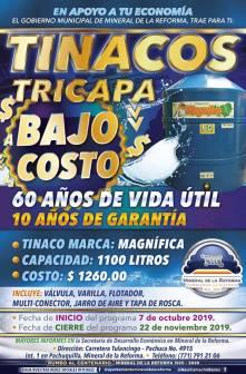 Invita Mineral de la Reforma a adquirir calentadores solares y tinacos a bajo costo3