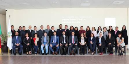 La PGJEH fue sede de la primera reunión de fiscales especializados en materia 4