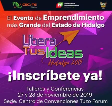 Organiza CECyTEH evento de emprendimiento más grande del estado de Hidalgo1