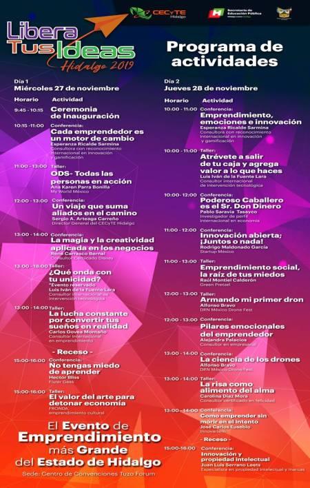 Organiza CECyTEH evento de emprendimiento más grande del estado de Hidalgo2