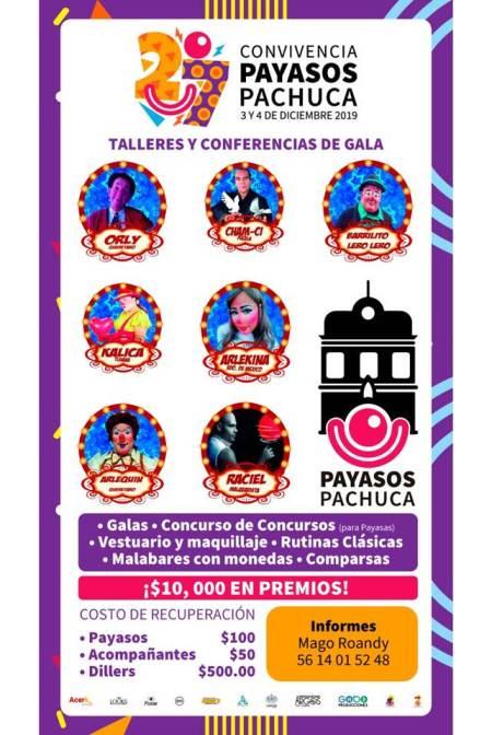 Presenta Payasos Pachuca la 27ava. Convivencia del Gremio