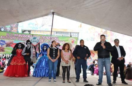 Realizan en Tizayuca el Festival Juvenil de Día de Muertos 2019-3