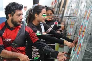 Realizan la novena edición del Campeonato Estatal Bajo Techo de Tiro con Arco