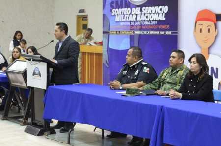 Realizan Sorteo Militar Nacional 2019 en Mineral de la Reforma