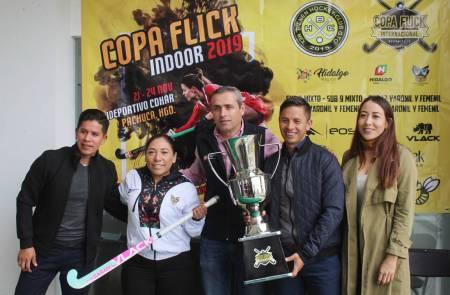 Realizarán la segunda edición de la Copa Flinck Indoor