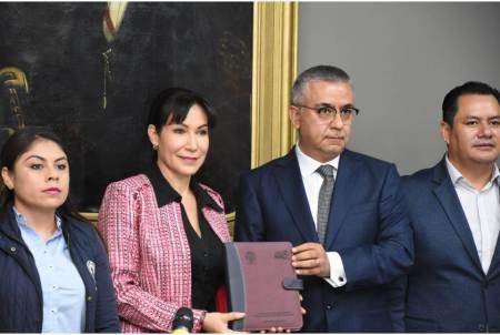 Recibe Comisión Inspectora, segunda entrega de informe de Cuenta Pública 2018