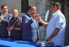 Reciben chalecos institucionales, trabajadores municipales en Mineral de la Reforma1