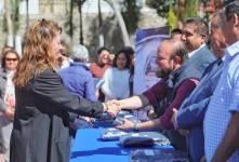 Reciben chalecos institucionales, trabajadores municipales en Mineral de la Reforma3