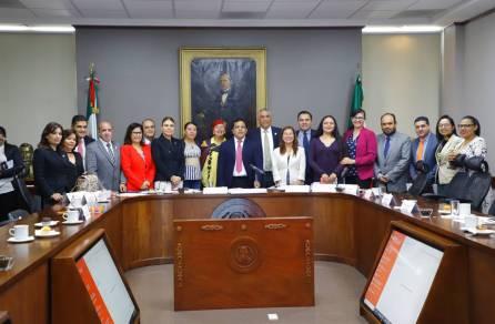 Respaldan comisiones conjuntas del Congreso de Hidalgo proyecto 1