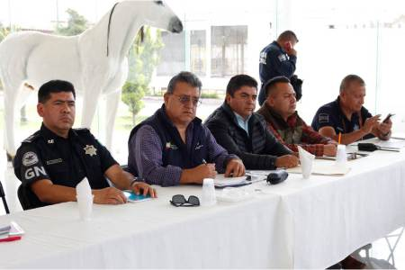 Tizayuca es sede de la Cuadragésima cuarta reunión interinstitucional de Seguridad Pública