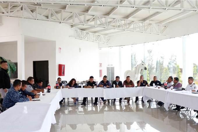 Tizayuca es sede de la Cuadragésima cuarta reunión interinstitucional de Seguridad Pública2.jpg