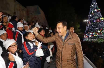 Alegría y unidad, motores de la navidad en Hidalgo3