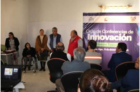 Arranca en Tizayuca el Ciclo Estatal de Conferencias en temas de Innovación2