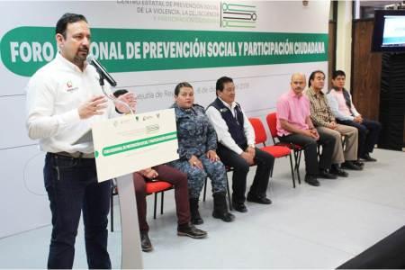 Con Foro de Prevención, llama SSPH a prevenir y denunciar violencia intrafamiliar en la Huasteca