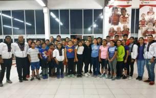 El Centro Deportivo Hidalguense y de Alto Rendimiento albergó el segundo campamento de ciclismo3