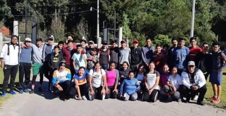 El Centro Deportivo Hidalguense y de Alto Rendimiento albergó el segundo campamento de ciclismo4