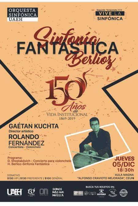 El reconocido violonchelista Rolando Fernández ofrecerá concierto con la OSUAEH.jpg