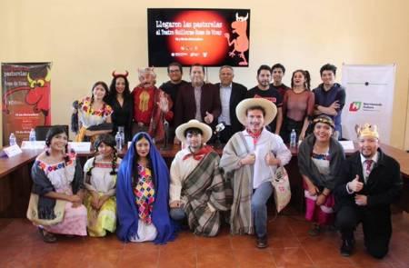 El Teatro Guillermo Romo de Vivar se llena de talento, diversión y pastorelas 1