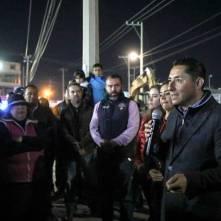 Encabeza Raúl Camacho banderazo de inicio de obra 3