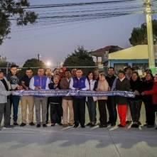 Encabeza Raúl Camacho banderazo de obra de pavimentación de concreto en Fraccionamiento Los Pinos 3