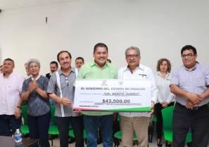 Entrega Atilano Rodríguez recursos del Fortalecimiento de la equidad y la inclusión 2019-1