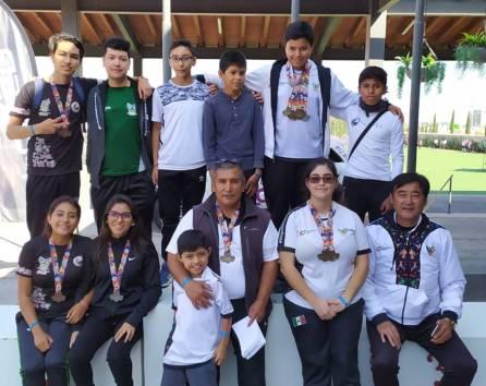 Excelente participación de los arqueros hidalguenses en el Nacional Bajo Techo 2019-1