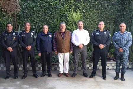 Fusionarán operativos limítrofes Secretarías de Seguridad de Tlaxcala, Puebla e Hidalgo2