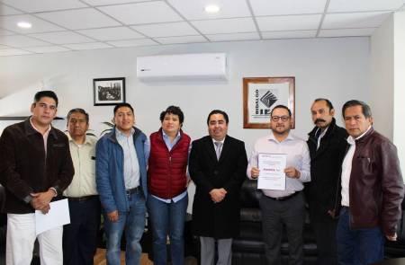 IEEH recibe plataforma electoral de los Partidos Morena y Verde Ecologista de México 2