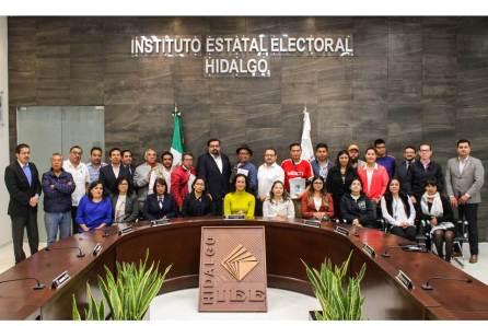 Imparte IEEH curso a medios de comunicación sobre Reforma Electoral 2019-4