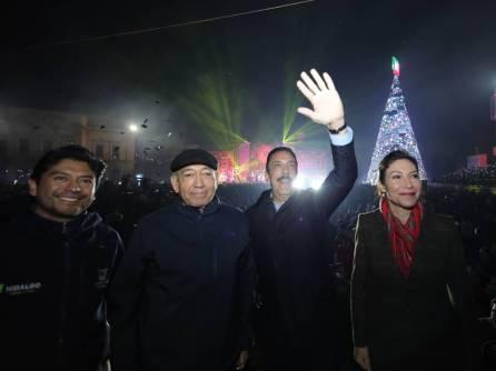 Inician festejos navideños en Hidalgo4
