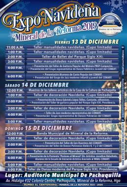 Invita Mineral de la Reforma a Expo Navideña 2019-4