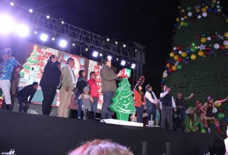 Llega la magia de la navidad a Jacala y Zimapán