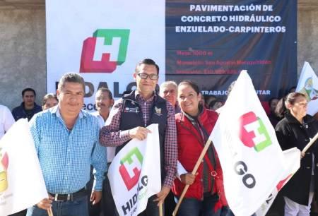 Pavimentarán con concreto hidráulico la carretera Enzuelado – Carpinteros en San Agustín Metzquititlán2.jpg