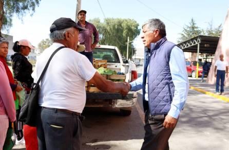 Presidencia Municipal de Tizayuca continúa donando verduras a la población vulnerable3