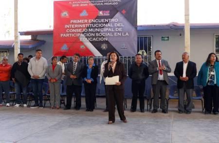 Realizan en Tizayuca el Primer Encuentro Interinstitucional 1