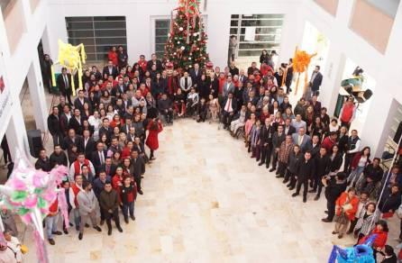 Realizan honores a la bandera en sede del Comité Directivo Estatal del PRI2