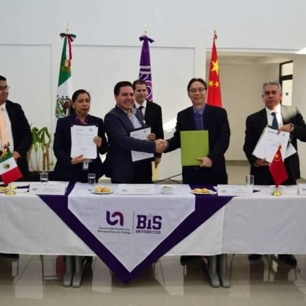 UPMH y UTSH firman convenio de colaboración con Universidad de China2