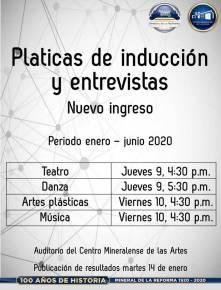 Abre Mineral de la Reforma, convocatoria para su Programa Municipal de Educación Artística Inicial, periodo enero- junio 2020-1