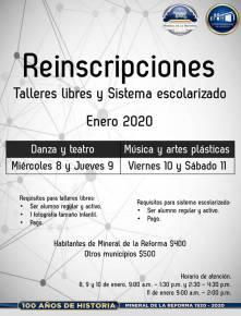 Abre Mineral de la Reforma, convocatoria para su Programa Municipal de Educación Artística Inicial, periodo enero- junio 2020-2