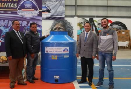 Arranca programa municipal de tinacos a bajo costo en Mineral de la Reforma1
